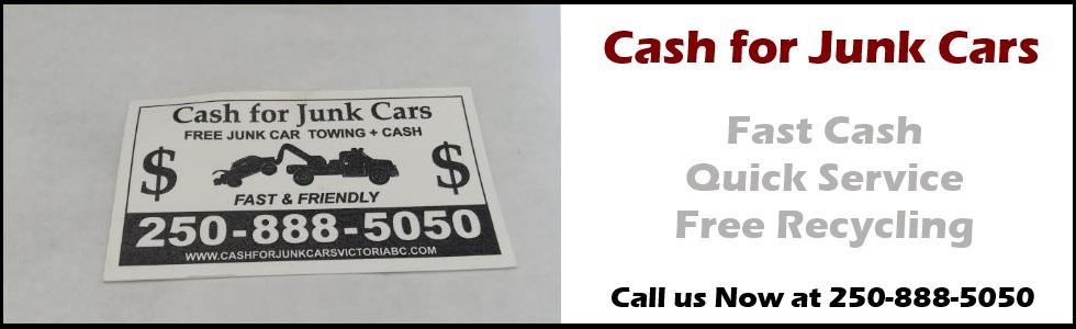 Cash for Junk Cars Biz Card Slider